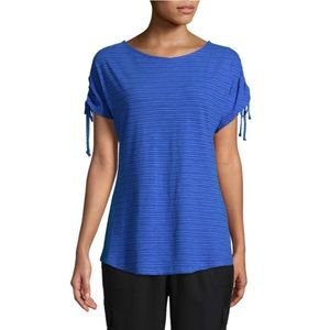 NWT St. John's Bay Active Short/Tie Sleeve Tee